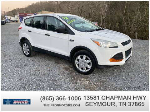 2013 Ford Escape for sale at Union Motors in Seymour TN