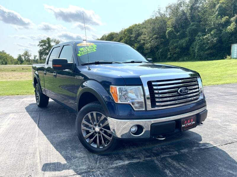 2012 Ford F-150 for sale at A & S Auto and Truck Sales in Platte City MO