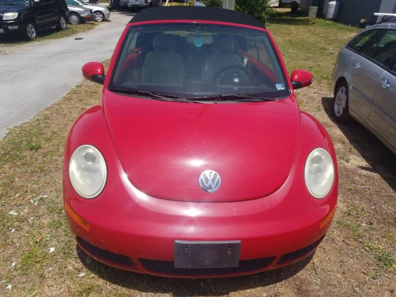 2006 Volkswagen New Beetle Convertible for sale in Morehead City, NC