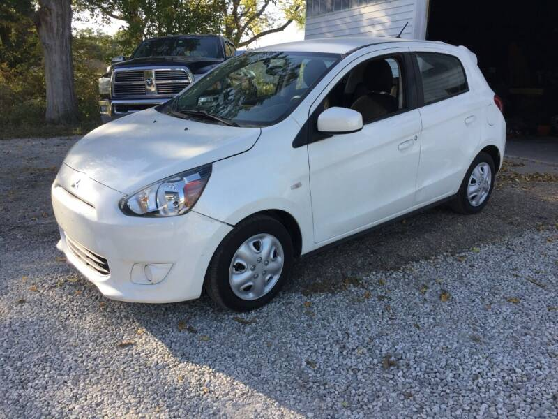 2015 Mitsubishi Mirage for sale at Bailey Auto in Pomona KS