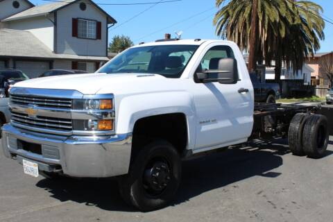 2015 Chevrolet Silverado 3500HD CC for sale at CA Lease Returns in Livermore CA