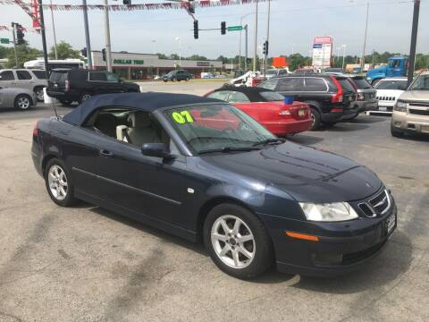 2007 Saab 9-3 for sale at ROUTE 6 AUTOMAX in Markham IL