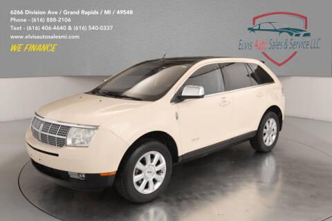 2008 Lincoln MKX for sale at Elvis Auto Sales LLC in Grand Rapids MI