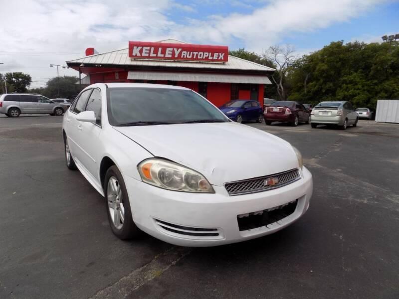 2012 Chevrolet Impala for sale at Kelley Autoplex in San Antonio TX