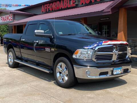 2016 RAM Ram Pickup 1500 for sale at Affordable Auto Sales in Cambridge MN