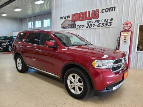 2013 Dodge Durango for sale at Kinsellas Auto Sales in Rochester MN