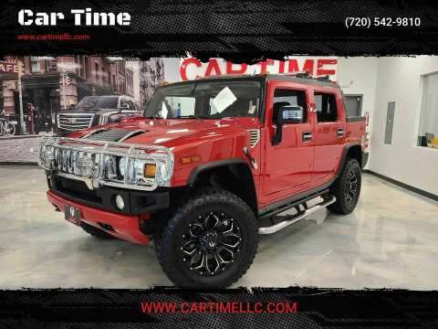 2005 HUMMER H2 SUT for sale at Car Time in Denver CO