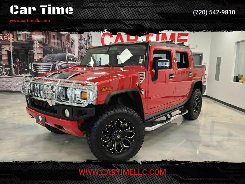 2005 HUMMER H2 SUT for sale at Car Time in Denver CO