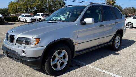 2003 BMW X5 for sale at T.S. IMPORTS INC in Houston TX