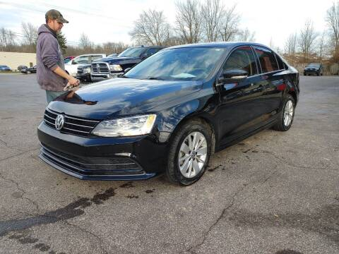 2015 Volkswagen Jetta for sale at Cruisin' Auto Sales in Madison IN