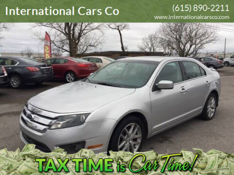 2012 Ford Fusion for sale at International Cars Co in Murfreesboro TN