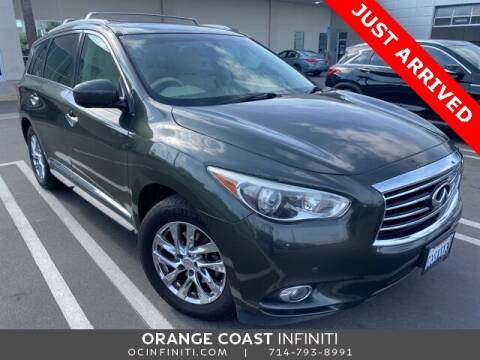 2013 Infiniti JX35 for sale at ORANGE COAST CARS in Westminster CA