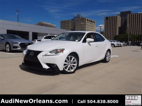 2014 Lexus IS 250 for sale at Metairie Preowned Superstore in Metairie LA