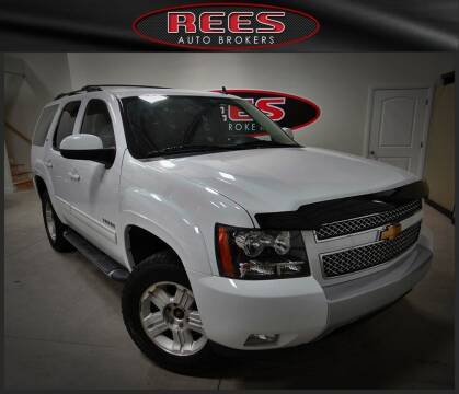 2011 Chevrolet Tahoe for sale at REES AUTO BROKERS in Washington UT