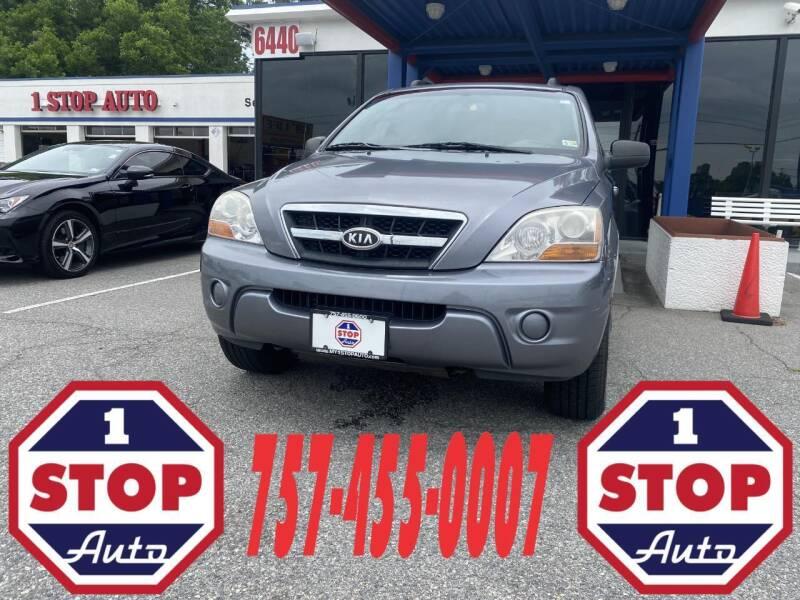 2009 Kia Sorento for sale at 1 Stop Auto in Norfolk VA