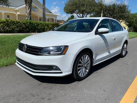 2016 Volkswagen Jetta for sale at GTR Motors in Davie FL