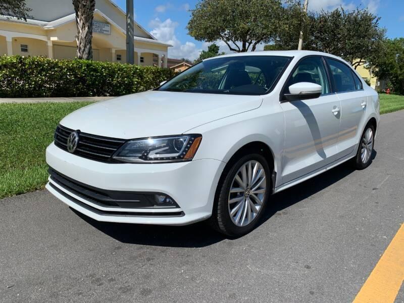 2016 Volkswagen Jetta for sale at GTR Motors in Davie FL