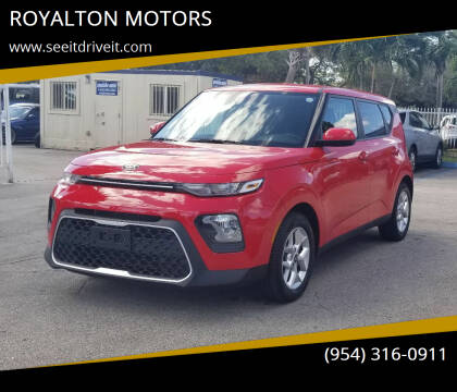 2020 Kia Soul for sale at ROYALTON MOTORS in Plantation FL