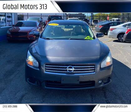 2009 Nissan Maxima for sale at Global Motors 313 in Detroit MI