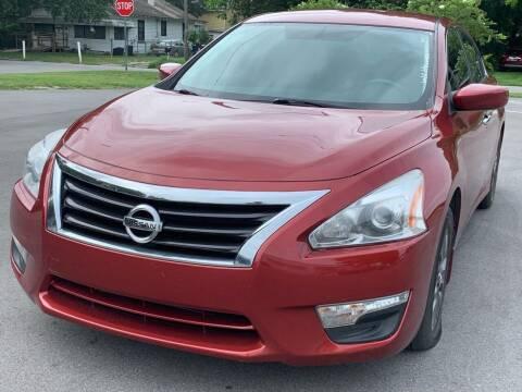 2015 Nissan Altima for sale at Consumer Auto Credit in Tampa FL