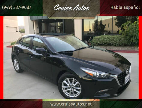 2017 Mazda MAZDA3 for sale at Cruise Autos in Corona CA