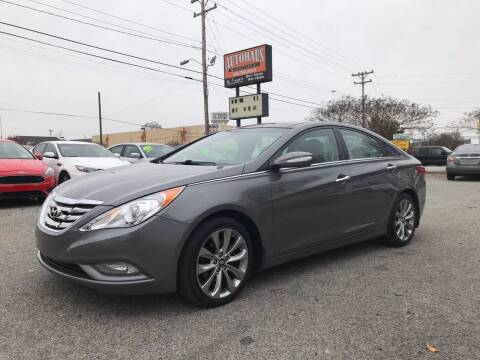 2012 Hyundai Sonata for sale at Autohaus of Greensboro in Greensboro NC