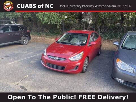 2017 Hyundai Accent for sale at Credit Union Auto Buying Service in Winston Salem NC