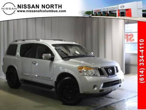 2015 Nissan Armada for sale at Auto Center of Columbus in Columbus OH