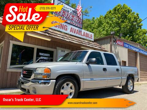 2006 GMC Sierra 1500 for sale at Oscar's Truck Center, LLC in Houston TX