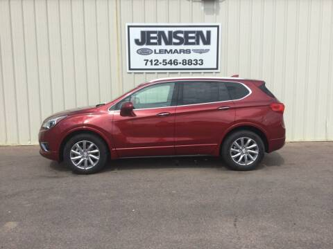 2020 Buick Envision for sale at Jensen's Dealerships in Sioux City IA