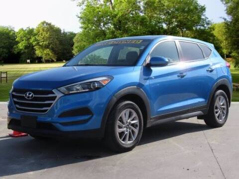 2017 Hyundai Tucson for sale at BIG STAR HYUNDAI in Houston TX