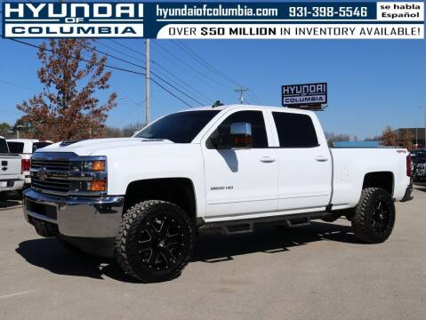 2017 Chevrolet Silverado 2500HD for sale at Hyundai of Columbia Con Alvaro in Columbia TN
