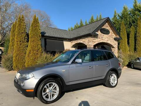 2008 BMW X3 for sale at Hoyle Auto Sales in Taylorsville NC