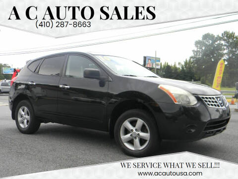 2010 Nissan Rogue for sale at A C Auto Sales in Elkton MD