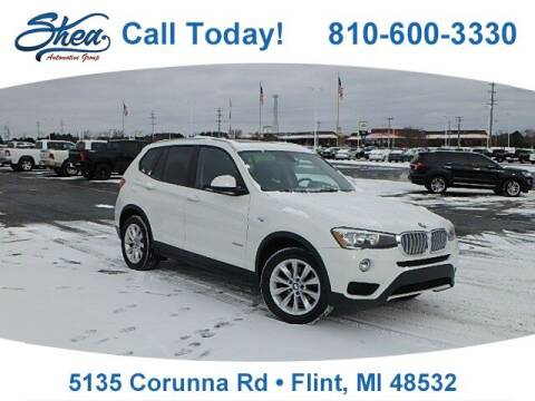 2017 BMW X3 for sale at Jamie Sells Cars 810 - Linden Location in Flint MI