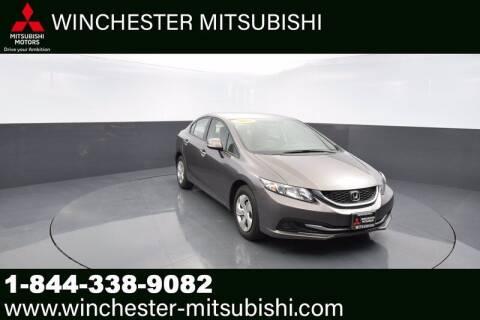 2013 Honda Civic for sale at Winchester Mitsubishi in Winchester VA