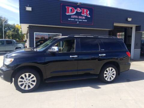 2011 Toyota Sequoia for sale at D & R Auto Sales in South Sioux City NE
