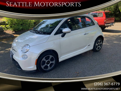 2013 FIAT 500e for sale at Seattle Motorsports in Shoreline WA