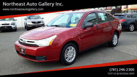 2011 Ford Focus for sale at Northeast Auto Gallery Inc. in Wakefield MA