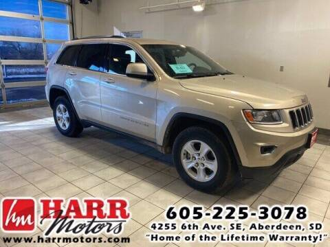 2015 Jeep Grand Cherokee for sale at Harr's Redfield Ford in Redfield SD