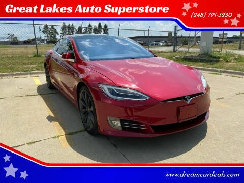 2016 Tesla Model S for sale at Great Lakes Auto Superstore in Waterford Township MI