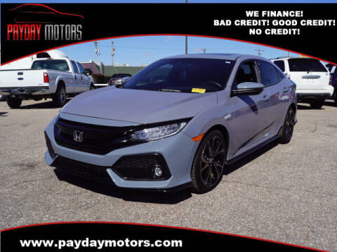 2019 Honda Civic for sale at Payday Motors in Wichita KS