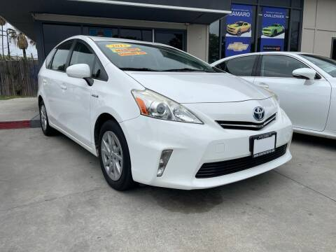 2012 Toyota Prius v for sale at My Next Auto in Anaheim CA