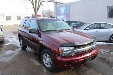2005 Chevrolet TrailBlazer for sale at Rochester Auto Mall in Rochester MN