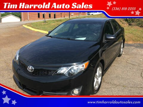 2014 Toyota Camry for sale at Tim Harrold Auto Sales in Wilkesboro NC