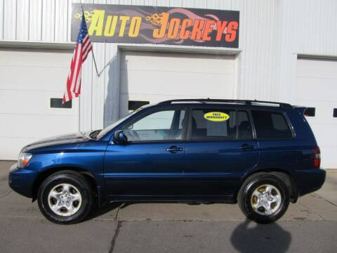 2007 Toyota Highlander for sale at AUTO JOCKEYS LLC in Merrill WI