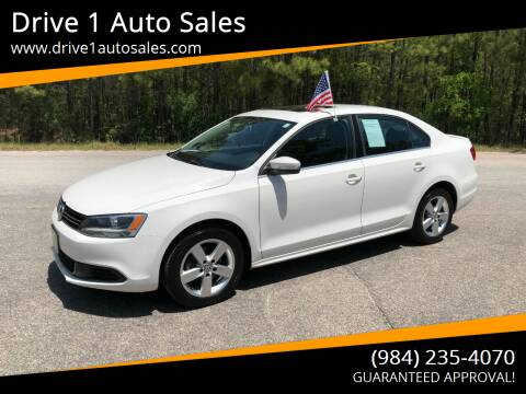 2013 Volkswagen Jetta for sale at Drive 1 Auto Sales in Wake Forest NC