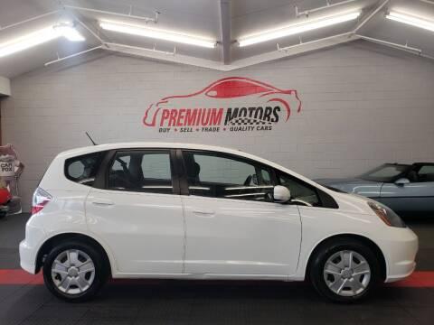 2013 Honda Fit for sale at Premium Motors in Villa Park IL