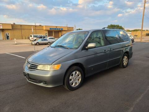 2002 Honda Odyssey for sale at Image Auto Sales in Dallas TX