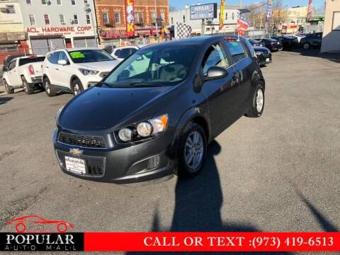 2015 Chevrolet Sonic for sale at Popular Auto Mall Inc in Newark NJ